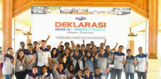 """DGCI """" Datsun Go Community Indonesia """" Chapter Sumedang"""
