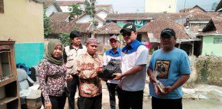 Pemberian Santunan kepada Korban Banjir Bandang Ciwidey Kabupaten Bandung Wilayah Bandung Selatan