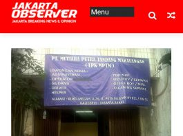 Nampak Depan PT. MPTN Karawang