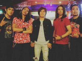 Nouvalz Band saat ditemui wartawan media OLNEWS INDONESIA di Metmall Cileungsi