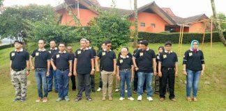 Suasana Saat Latihan Dasar Kepemimpinan Desa Cileungsi Kidul Kecamatan Cileungsi Bogor DI Cisarua