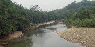 Tampak Sungai Ynag Tercemar oleh IKH PT. PT. CATUR MITRA TARUMA