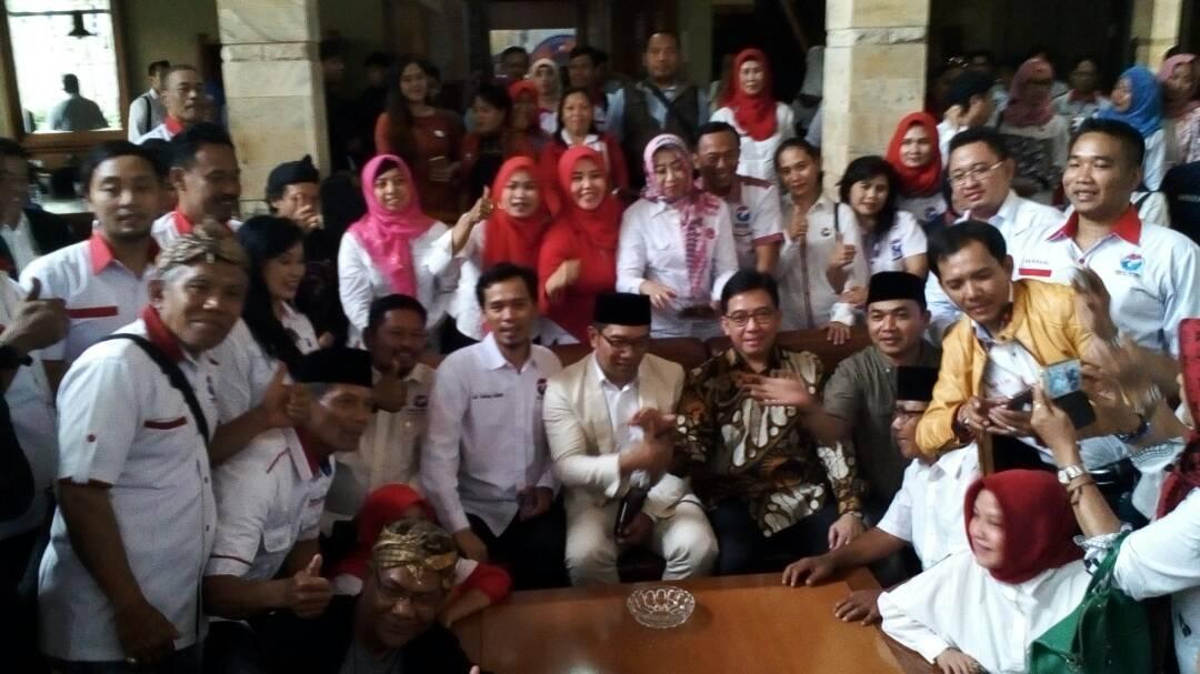 Peserta Sekolah Politik Partai Perindo Jawa Barat