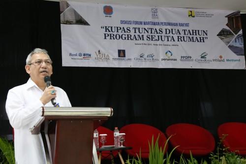 Kementerian Pekerjaan Umum dan Perumahan Rakyat (PUPR) optimistis program sejuta rumah terwujud makin optimal pada tahun mendatang.