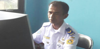 Asep Hermawan, Staff Administrasi Terminal Cileungsi