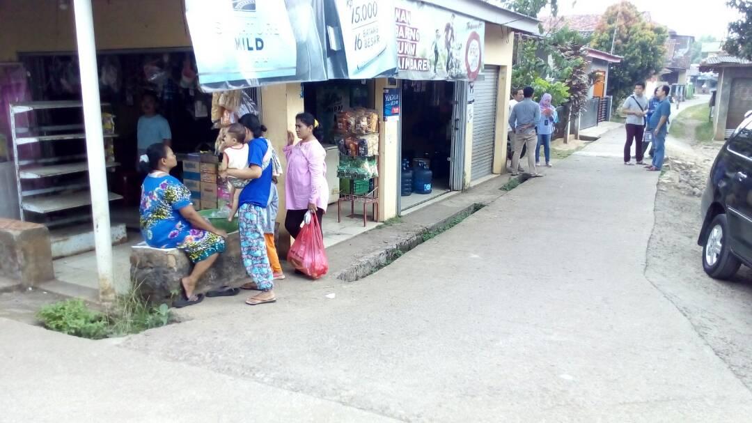 Tempat Kejadian Perkara Penusukan Fikri Iqbal Ramadhan Cileungsi Elok desa Cileungsi Kota