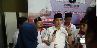 Ketua DPW GRIND Jawa Barat Deden Dinar Mukti Saat Pers Conference