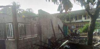 Kebakaran Rumah Hj. Anah Di Desa Dayueh Kecamatan Cileungsi Kabupaten Bogor