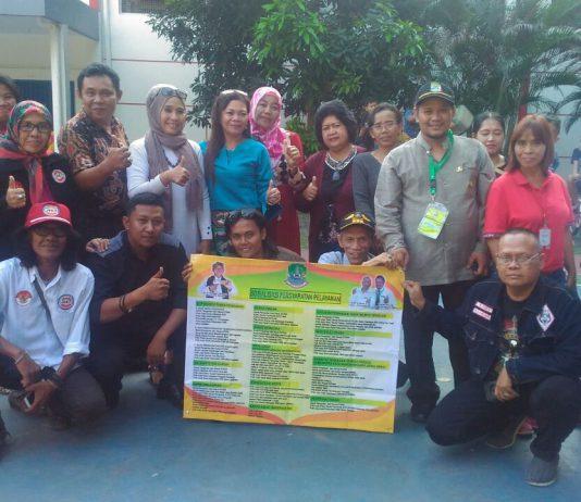 Seluruh Pengurus Forum Komunikasi Ormas Bekasi (FKOB))