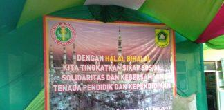 Halal Bihalal SDN 02 Cicadas
