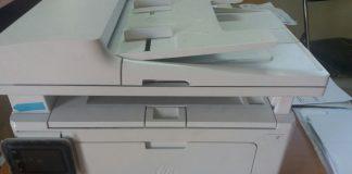 Sarana Mesin Printer Yang Rusak