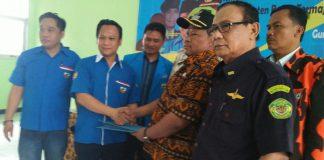 Serah Terima Jabatan ketua Terpilih PK KNPI Kecamatan Gunung Putri ( Abas Baesuni )