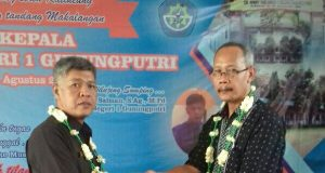 Acara Sertijab Kepala Sekolah SMKN.01 Kecamatan Gunung Putri