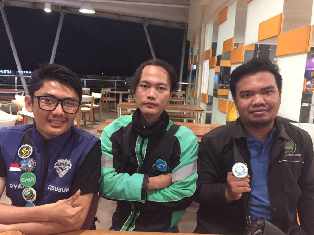Kiri Ke Kanan Lalat Ijo Cileungsi Riyan, Ardy (Wakorlap), Muhammad Villy (Koordinator Lapangan)