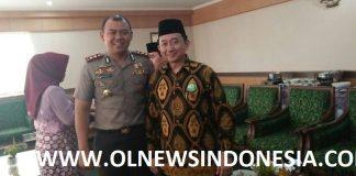 H. Irwan Kurniawan Dengan Kapolres Bogor