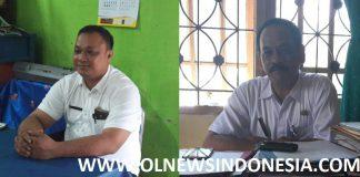Kepala SDN 1 Cileungsi, Iwan S.pd Dan Kasubag UPT pendidikan Cileungsi, Nacep S.sos,
