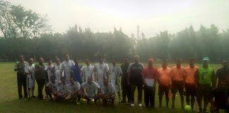 Peserta Turnamen Sepak Bola Antar Desa Se Kecamatan Klapanunggal