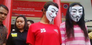 Aparat Polres Bogor Berhasil Ungkap jaringan 3 PSK bermodus Oneline
