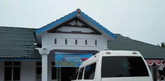 Gedung baru rawat inap Puskesmas Palipi Samosir