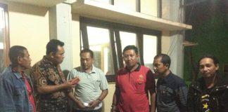 Ketua LSM KALIBER bersama kepala seksi pengaduan SUPOMO dan olnews indonesia