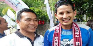 Samosir Internasional Ultra Marathon diikuti oleh 1097 pelari, dan 11 Negara salah satu pesertanya adalah Wakil Gubernur DKI Terpilih