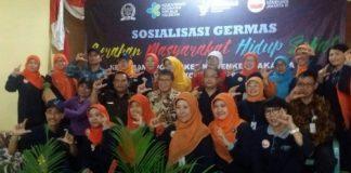 Tim GERMAS Jakarta 3 & Anggota DPR RI