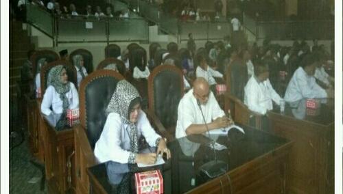 Foto : DPP Presidium Bogor Timur melakukan Audensi Di Gedung Dewan Kab.Bogor dan Di terima Oleh Ketua DPRD Kab. Bogor beserta seluruh Fraksi di DPRD