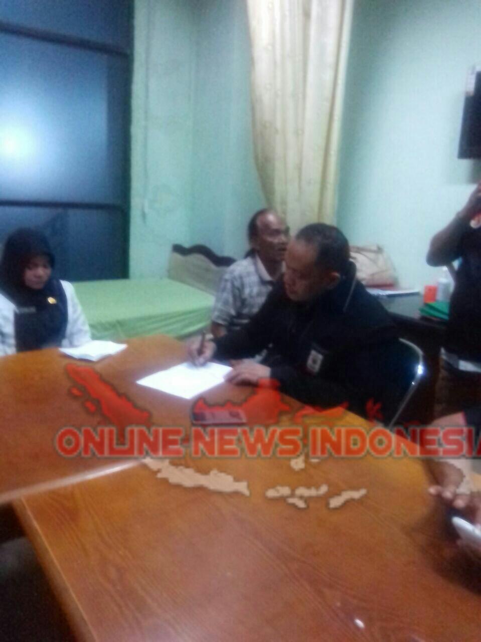 Foto : Ketua DPD JPKP Provinsi Sumut langsung mengadakan Investigasi pukul 23.00 ke rumah Sakit Pirngadi atas meninggalnya Pasien BPJS.