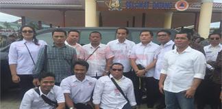 Pospera Karo Pada Saat Berfoto Dengan Presiden RI Joko Widodo