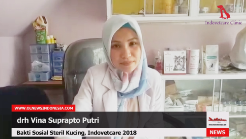 Bakti Sosial Indovetcare 2018 Steril Kucing