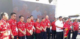 Gubernur Sulut Olly Dondokambey, SE membuka kegiatan