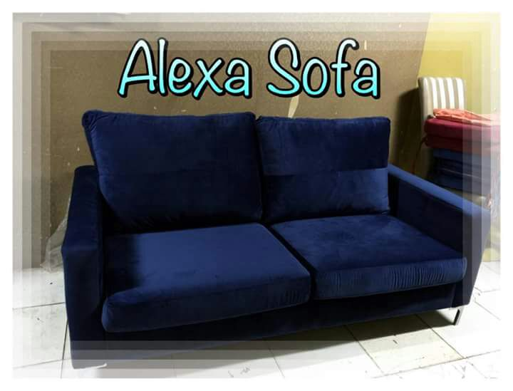 Blue Sofa By Alexa Sofa