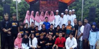 Foto bersama Komunitas Rocker Cileungsi