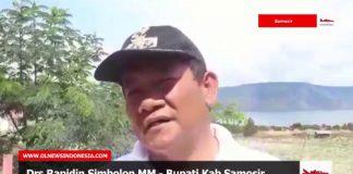 Wawancara Dengan Bupati Samosir Drs.Rapidin Simbolon MM