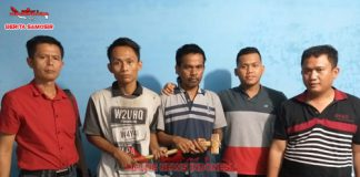 Kerjasama Dengan Polres Simalungun, Unit Reskrim Polres Samosir Ungkap Kasus Pencurian Batrai Panel Surya