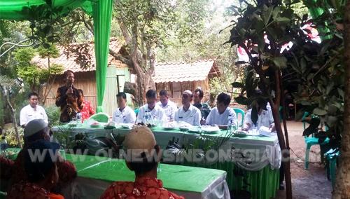 Kelompok Tani Harapan Jaya, Desa Gandoang Saat Dinilai