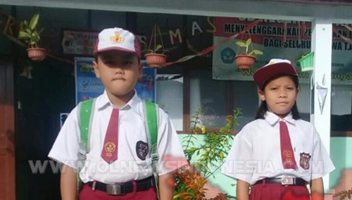 Siswa/i SD Negeri 12 Pintusona Pangururan Samosir, terpilih mengikuti pelatihan di Parbaba oleh Dinas Pendidikan Samosir  persiapan menghadapi Olimpiade Tingkat Sekolah Dasar