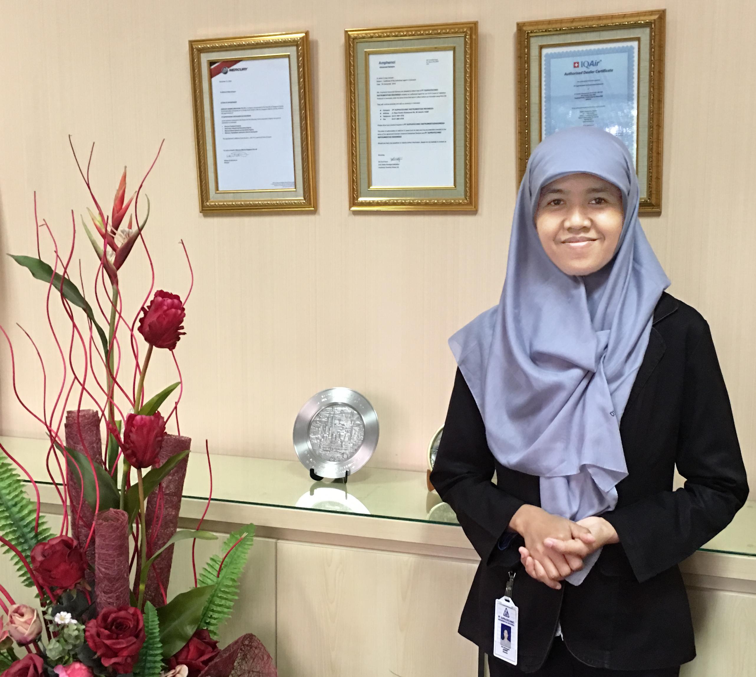 Fitri Sriningsih, Direktur Supratechnic Penyedia Alat Instrumentasi, Sensor Dan Kalibrasi