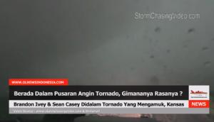 Kejadian Menarik Ketika Tim Pemburu Angin Tornado Terjebak Dalam Angin Tornado.