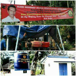 Sumur bor Program untuk Masyarakat
