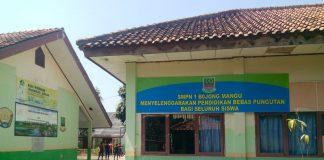 Tampak depan SMP Negeri 1 Bojongmangu