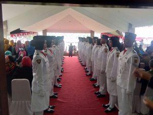 Team Paskibra Kabupaten Bogor