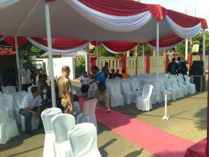Persiapan HUT RI ke 72 Kecamatan Jonggol