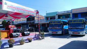 Bus Dishub Pemkab Samosir Rute Pangururan Ke Bandara Silangit Tapanuli Utara