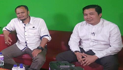 Ketua Presidium Bogor Timur Alhafis(kiri) dan Sekjen Presedium Aleks Riadi(kanan)