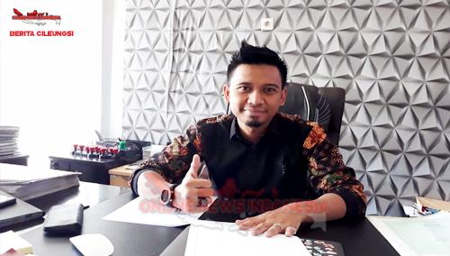 Erik Felany Wijaya SH.M.Kn , Penasehat Kades Cup 5 Pasir Angin 2018