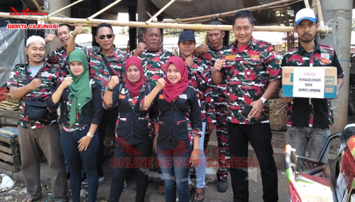 Laskar Merah Putih MAC Cileungsi Kabupaten Bogor Peduli Lombok