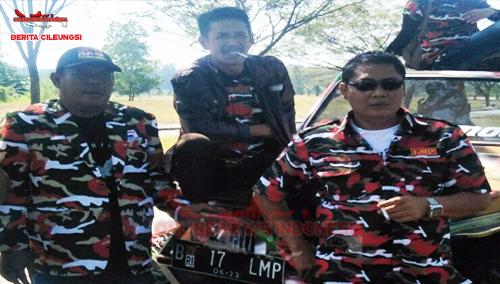 Ucok, Ketua LMP MAC Cileungsi dan Zezen Sanusi, Wakil Ketua LMP MAC Cileungsi