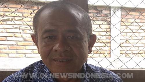 Kepala Dinas Kesehatan kabupaten Samosir Sumatera Utara, dr.Nimpan Karo Karo