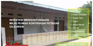Jual Rumah Kontrakan Cileungsi , Hub : 0838 7717 0671 / 0877 8402 7527